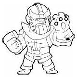 Infinity Gauntlet Coloring Pages Clipart War Marvel Printable Sketch Thanos Tagged Posted sketch template