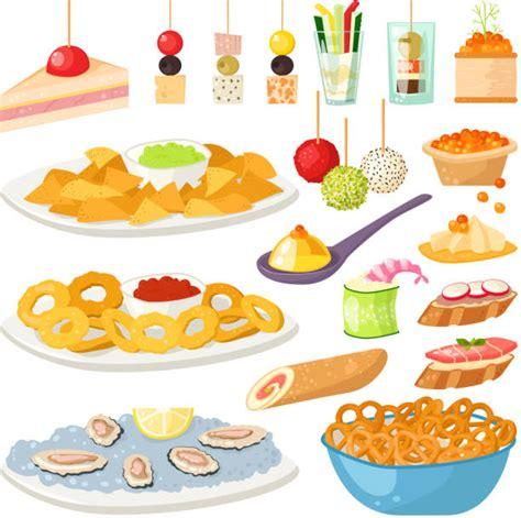 buffet illustrations royalty  vector graphics clip
