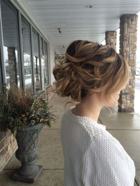 loose updo ideas  pinterest