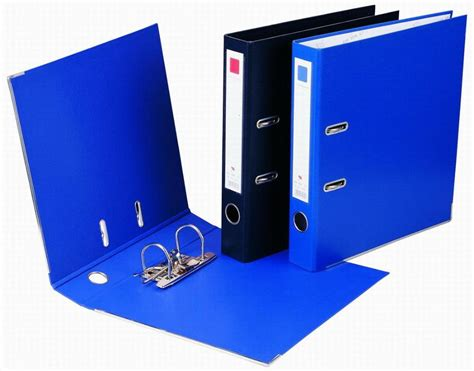 Paperboard Clip File (pvc Cover)