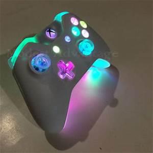 Xbox e controller Full LED mod
