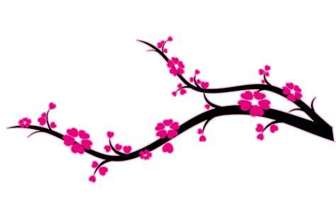 stickers muraux cerisier japonais top branche fleurs cerisier wallpapers