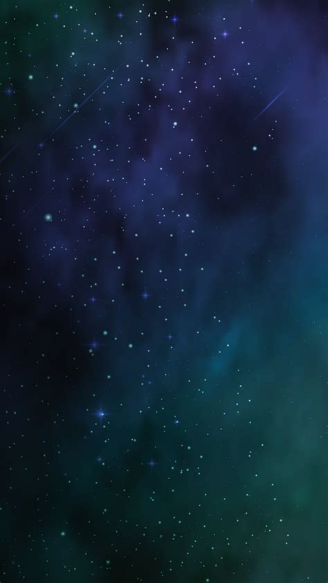 Ultra Hd Blue Universe Wallpaper For Your Mobile Phone 0045