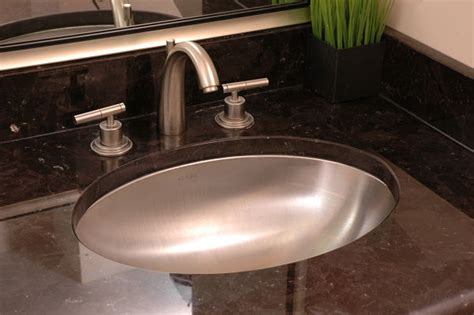 Steel Bathroom Sink by 7 Bathroom Sink Styles That Offer A Variety Of Design Options