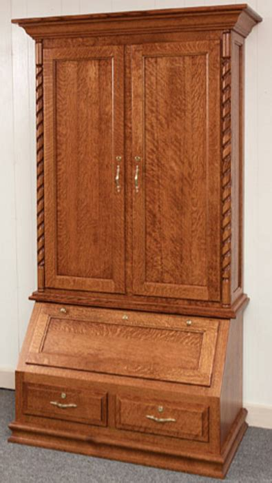 Deer Cabinets by American Whitetail Gun Cabinet With Optional Deer Design