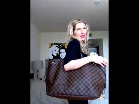 review comparison louis vuitton neverfull gm  mm youtube