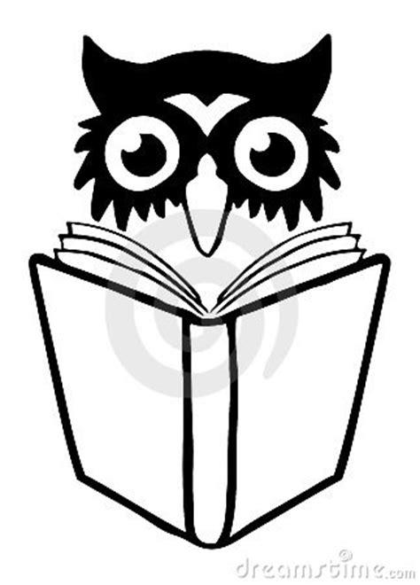 owl book logo royalty  stock  image