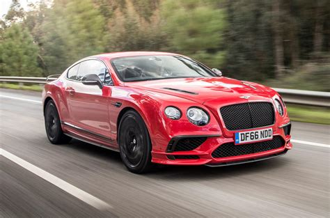 bentley sports 2017 bentley continental gt supersports review autocar