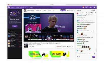 Streaming Twitch Restream Events