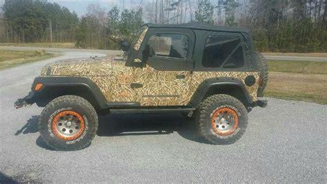 camo jeep yj mossy oak brush camo jeep wrangler jeeps pinterest