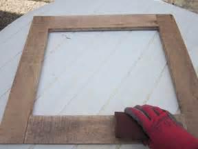 fabriquer un miroir en bois flotte miroir deco pour noel