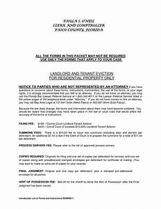 Residential landlord tenant eviction notice form by for Landlord to tenant eviction notice letter