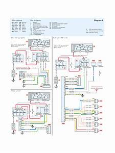 Peugeot 206 System Wiring Diagrams Clock Cigar Lighter Sunroof Audio System Schematic