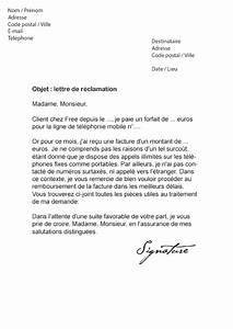 Remboursement Assurance Emprunteur Lettre Type : lettre de r clamation free mod le de lettre ~ Gottalentnigeria.com Avis de Voitures