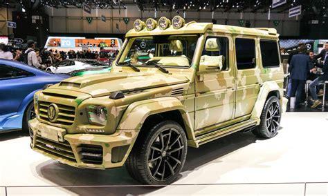 Mercedes Gklasse Im Saharalook Von Mansory @ Automativ