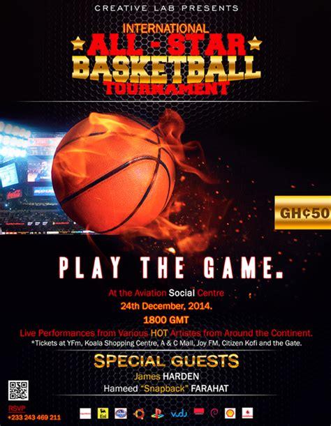 star basketball tournament flyer  pantone canvas gallery