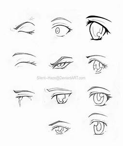 Anime Eyes 2 by Silent--Haze on DeviantArt