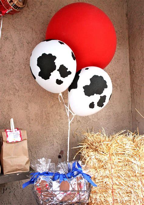 Cowhide Balloons - tini izaiah s cowboy