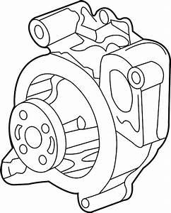 Pontiac Solstice Pump  Water  Engine