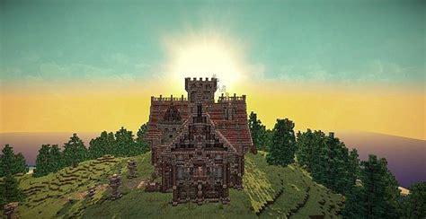 medieval mansion minecraft building