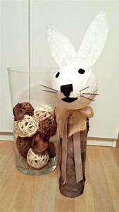 Basteln Mit Holz : osterhasen basteln mit holz und gips ~ Lizthompson.info Haus und Dekorationen