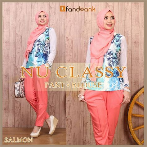contoh foto baju muslim modern terbaru  aneka model
