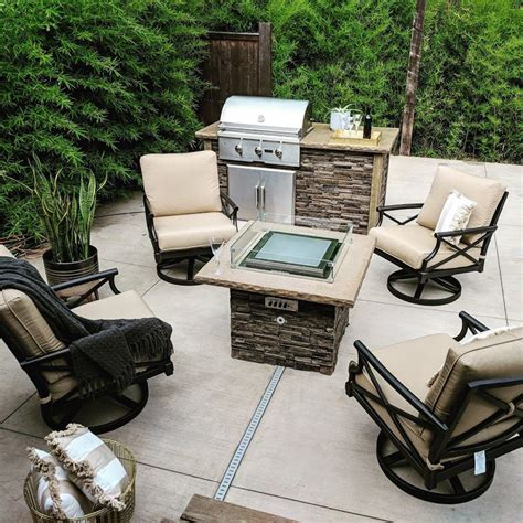 Never worry about wind again with this fire pit flame guard from celestial fire glass. Dancing Fire Pit + Wind Guard (The Montana) - Blazing ...