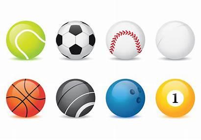 Vector Balls Sport Football Sports Icons Clipart