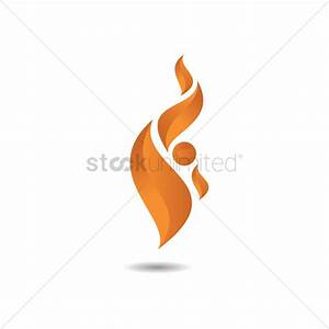 Flame logo design Vector Image - 1477172 | StockUnlimited