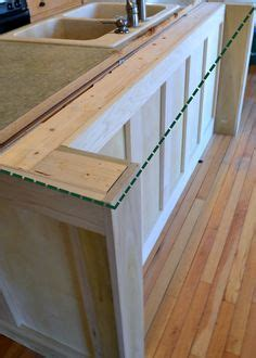 Kitchen Bar Extender by Diy Kitchen Island From Stock Cabinets Diy Home In 2019