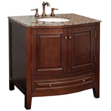 traditional wood sink vanity  bathroom vanities