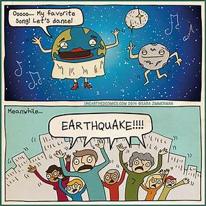 Science comic and geology humor about the real source of ...
