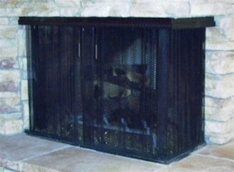hanging screen  northshore fireplacenorthshore fireplace