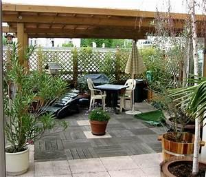 quelles plantes pour votre terrasse lyon femmes With marvelous idee deco jardin terrasse 12 deco maison cuisine