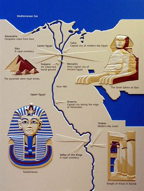 map  ancient egypt   nile egypt map