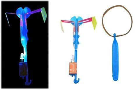 Best Childrens Flying Toy Led Light Helicopter Sling