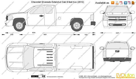 Silverado Bed Sizes by Chevrolet Silverado Dimensions 2017 Ototrends Net
