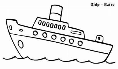Kapal Mewarnai Gambar Laut Coloring Untuk Contoh