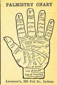 Levenson U0026 39 S Palmistry Chart