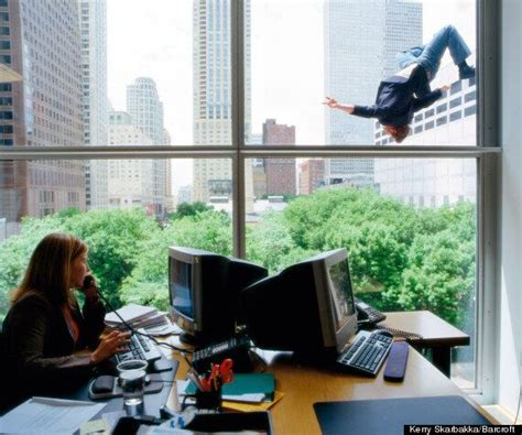 Kerry Skarbakkas 'falling Man Images Spark Controversy