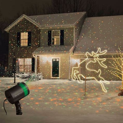 Outside Projector Lights by Shower Laser Light Projector Outdoor Show