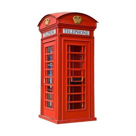 sticker trompe loeil cabine telephonique anglaise art