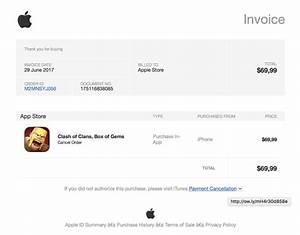 Mac Auf Rechnung : apple id phishing rechnung ber teure in app k ufe als ~ Haus.voiturepedia.club Haus und Dekorationen