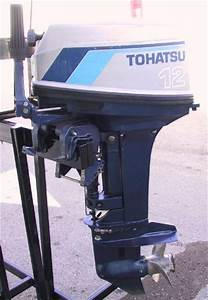 12 Hp Nissan Tohatsu Outboard Boat Motor For Sale
