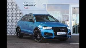 Audi Q3 S Line Versions : df66pyz audi q3 tdi quattro s line black edition blue 2017 youtube ~ Gottalentnigeria.com Avis de Voitures