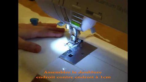 comment faire un coussin déhoussable housse coussin