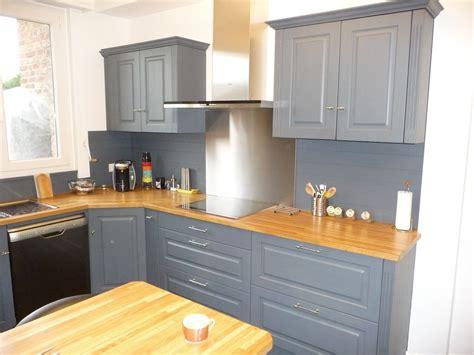 cuisine et gris cuisine equipée chêne gris clair cuisines liebart