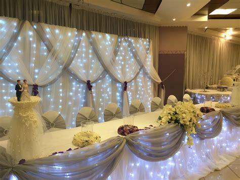 table dhonneur des maries idee deco salle wedding