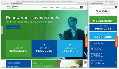 Credit Union Website Template by 14 Inspirational Responsive Banking Website Designs For