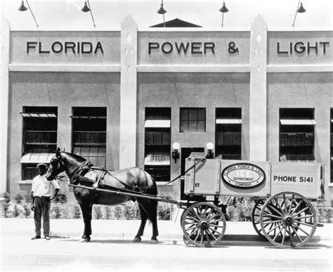Florida Power And Light by Florida Memory Florida Power And Light Company Wagon
